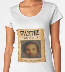 wanted Women's Premium T-Shirt