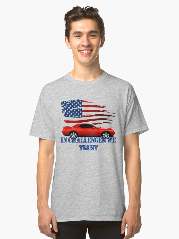 DODGE CHALLENGER  Classic T-Shirt Front