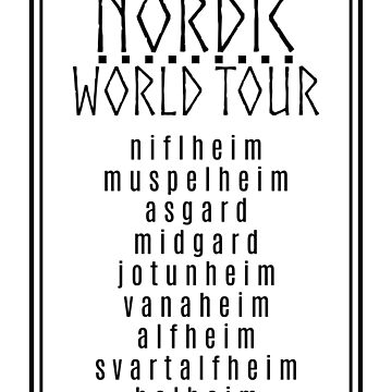 Nordic World Tour by munchgifts