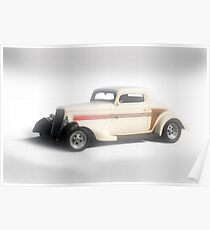 1933 Ford Three-Window Coupe Poster