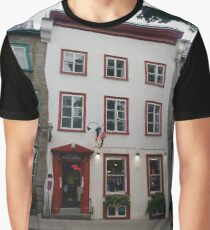 Quebec City, #QuebecCity, #Quebec, #City, #Canada, #buildings, #streets, #places, #views, #nature, #people, #tourists, #pedestrians Graphic T-Shirt