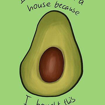 Millennial Avocado by Maisy-G
