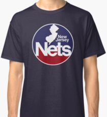 DEFUNCT - New Jersey Nets, Retro Basketball Classic T-Shirt