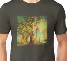 An Encounter at the Edge of the Forest Unisex T-Shirt