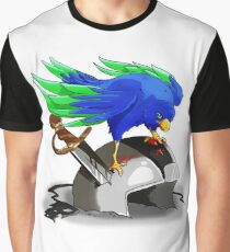 Hawk Victorious  Graphic T-Shirt