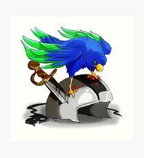 Hawk Victorious  Art Print