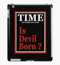 TIME - ROSEMARY'S BABY - IS DEVIL BORN?  iPad Case/Skin