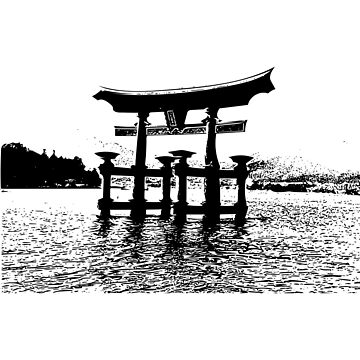 Shrine over the water by josemontanez18