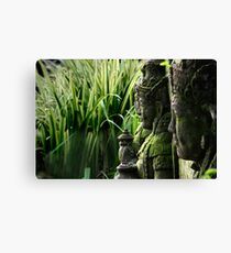 Indonesia 2 - Gardians of the Rice Fields Canvas Print