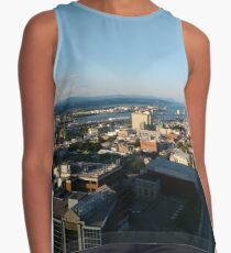 Quebec City, #QuebecCity, #Quebec, #City, #Canada, #buildings, #streets, #places, #views, #nature, #people, #tourists, #pedestrians, #architecture, #flowers Contrast Tank