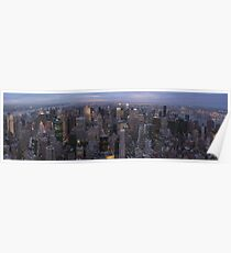 New York, Empire State Building Poster