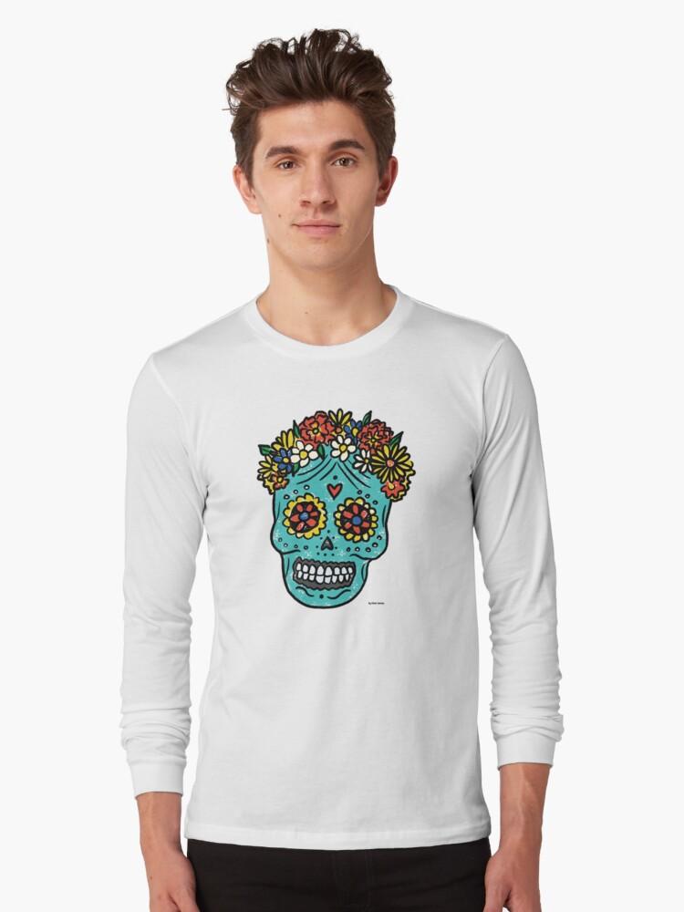 Quot Sugar Skull Quot T Shirt By Pame Salinas Redbubble