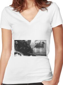 The Escape Women's Fitted V-Neck T-Shirt