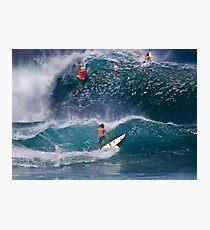 Surfer At Banzai Pipeline 2011.2 Photographic Print