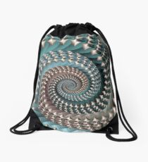 Decorated Spiral Drawstring Bag