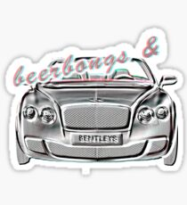 Post Malone- Beerbongs and Bentleys Sticker