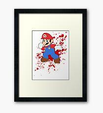 Mario - Super Smash Bros Framed Print