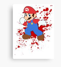 Mario - Super Smash Bros Canvas Print