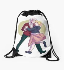 Dance with Me [3xRose] Drawstring Bag