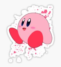 Kirby - Super Smash Bros Sticker