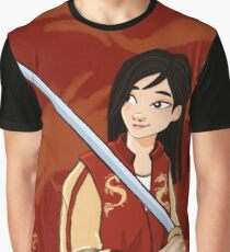 A Girl Worth Fighting For Graphic T-Shirt