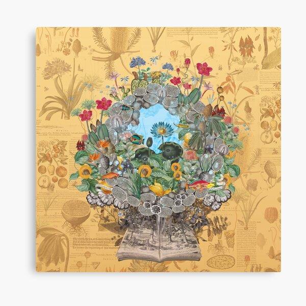 Botanical Boutonniere Canvas Print