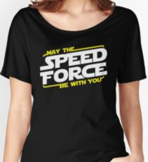 May The Speed Force Be With You Women's Relaxed Fit T-Shirt