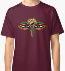 Buddha eyes, symbol wisdom & enlightenment, Classic T-Shirt