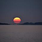 Sunrise or Hot Air Balloon!? by Poete100