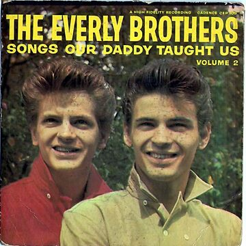 Everly Brothers, Songs ep, Rock & Roll, Rockabilly by Vintaged