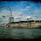 London Eye and Aquarium by Jonicool