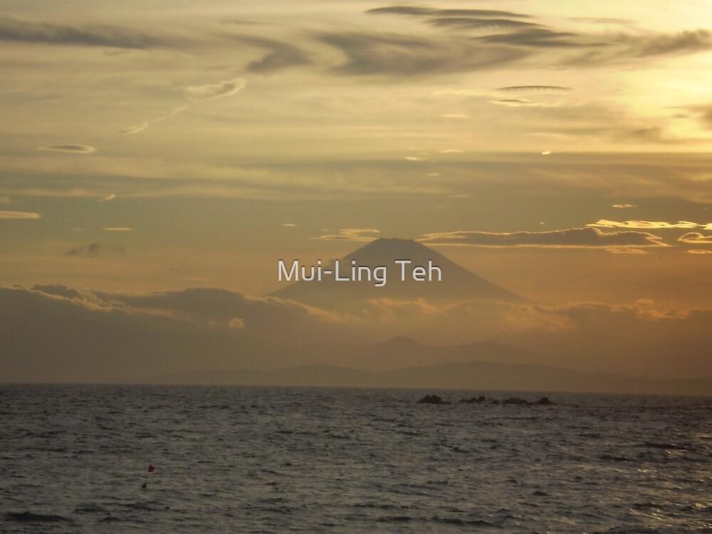 Mt. Fuji Sunset I by Mui-Ling Teh