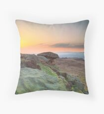 The Pancake Stone Throw Pillow