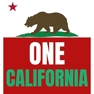 One California, One state, one people by teesogram