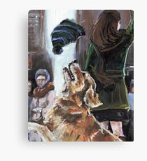 The Mary Tyler Moore Golden Retriever Canvas Print