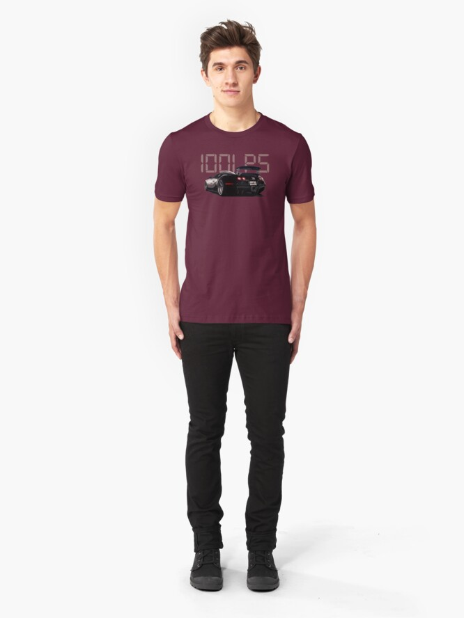 Alternate view of Shift Shirts A Grand - Veyron Inspired Slim Fit T-Shirt