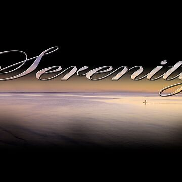 Serenity II on black by RayW