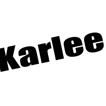 Karlee - Karlee's Mug, Tshirt, Card, Notebook - Unique Name Designs by WaffleOnDesigns