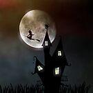 Halloween Scene by FrankieCat