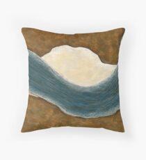 Murray River Bend Throw Pillow