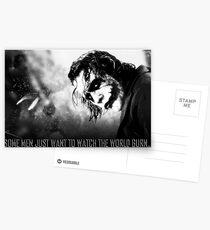 The Joker Postcards