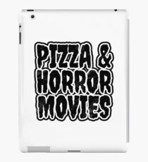 Pizza and Horror Movies iPad Case/Skin