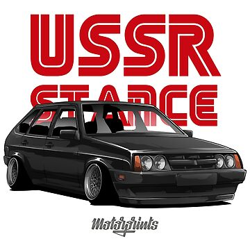 USSR Stance 2109 (black) by MotorPrints