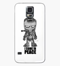 I COME IN PEACE IRON MAN WAR MACHINE Case/Skin for Samsung Galaxy