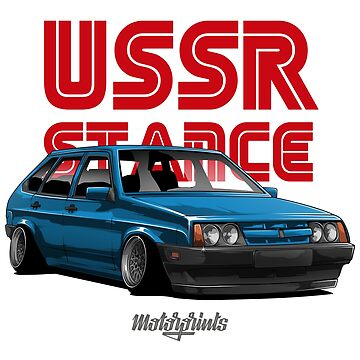 USSR Stance 2109 (blue) by MotorPrints