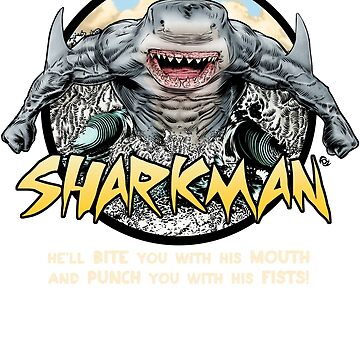 Shark-Man by MrFoz