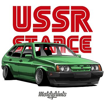 USSR Stance 2109 (green) by MotorPrints