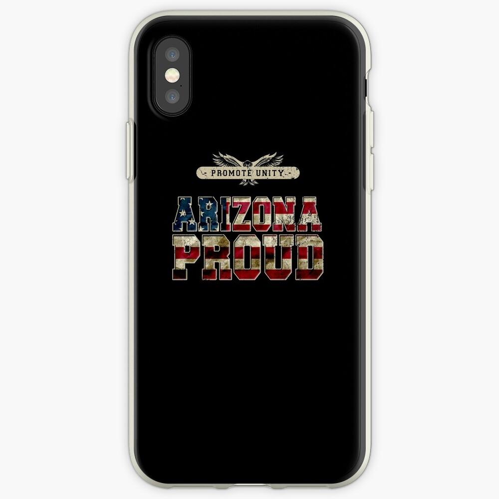 Stolz Arizonas fördern Einheit Stolzes starkes ehrfürchtiges Entwurfs-Geschenk iPhone-Hülle & Cover