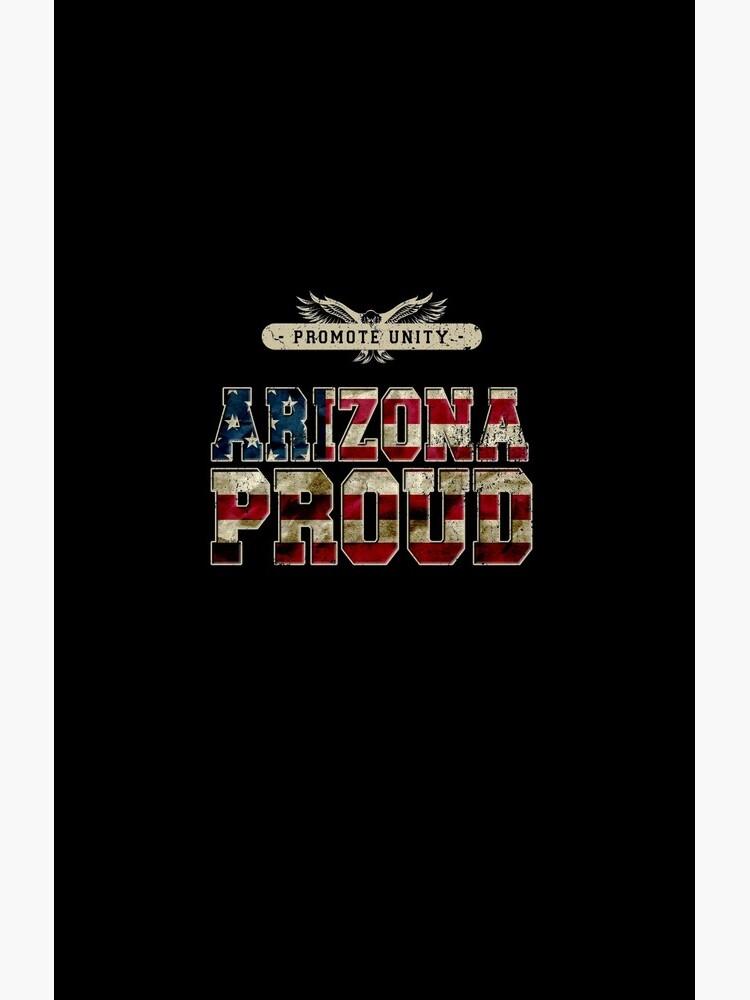 Stolz Arizonas fördern Einheit Stolzes starkes ehrfürchtiges Entwurfs-Geschenk von djpraxis