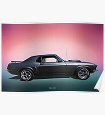 69 Mustang Poster